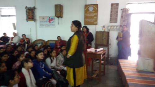 outreach program at satya sai