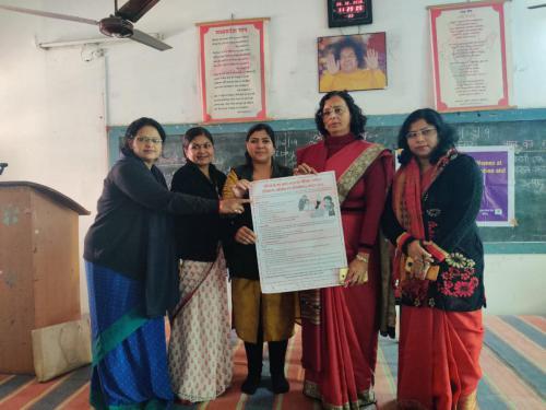 outreach program at satya sai college
